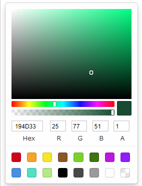 Sketch|「vue-color」を使ってColorPickerを実装する
