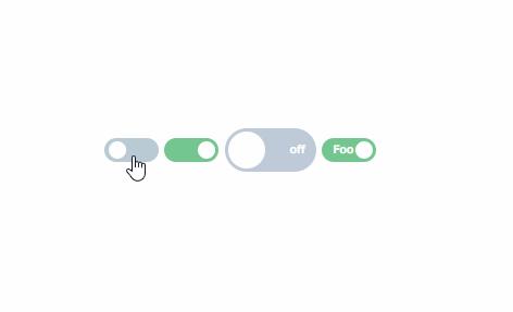 「vue-js-toggle-button」を使ってswitch ボタンを実装する