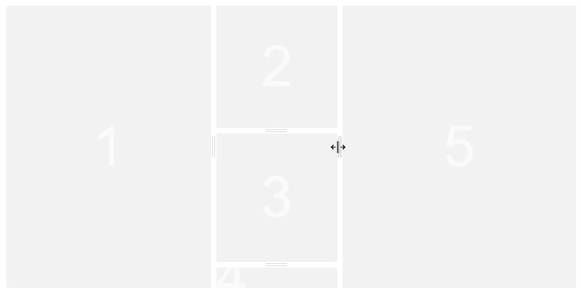 区切り線をドラッグで可変できる「Vue Split Panes」