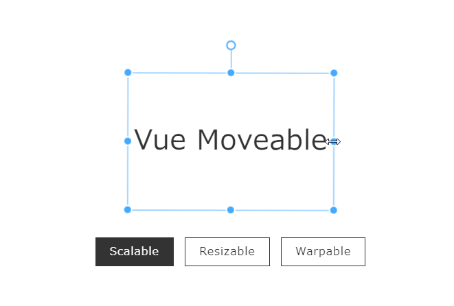 「Vue Moveable」を使って要素を回したり、伸ばしたりする 2