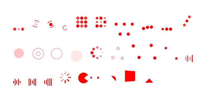 28種類のローディングアニメーションを実装する「vue-loaders」